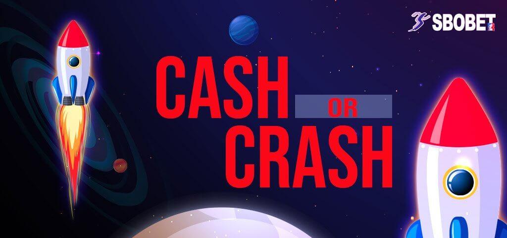 จรวด CASH OR CRASH ทายเวลาของการระเบิดของจรวดที่ท่านได้ขึ้นไป